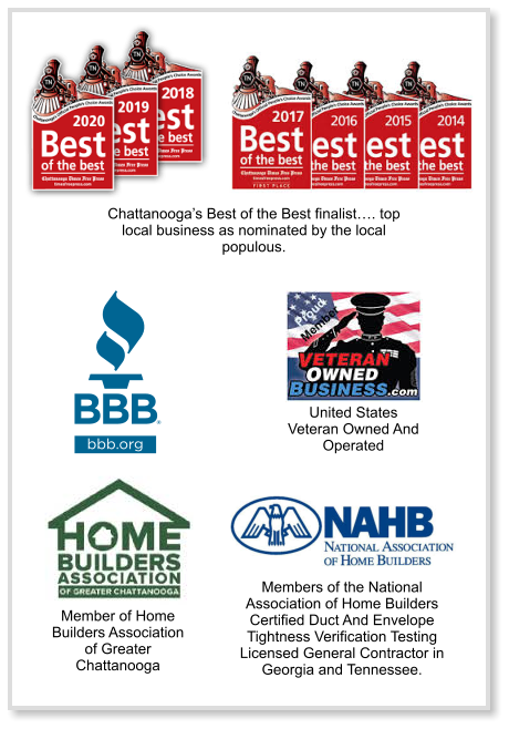 Turn2Us Handyman services awards Chattanooga